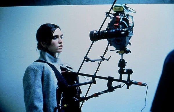 Requiem for a Dream custom rig snorricam worn by jennifer connelly point of view shot