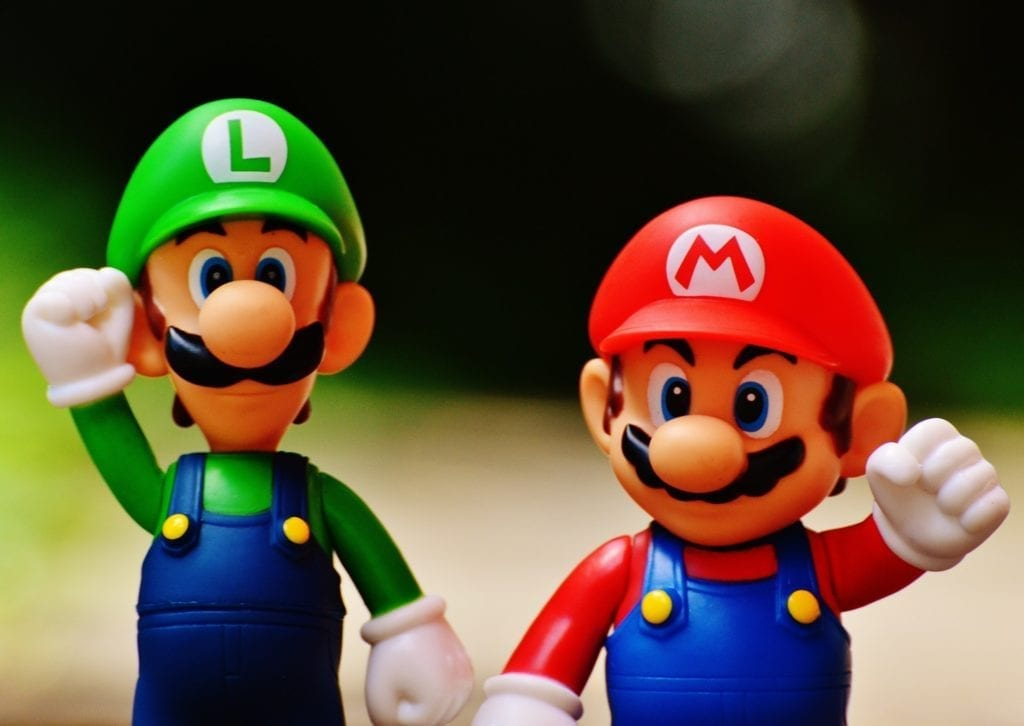 mario and luigi action figures