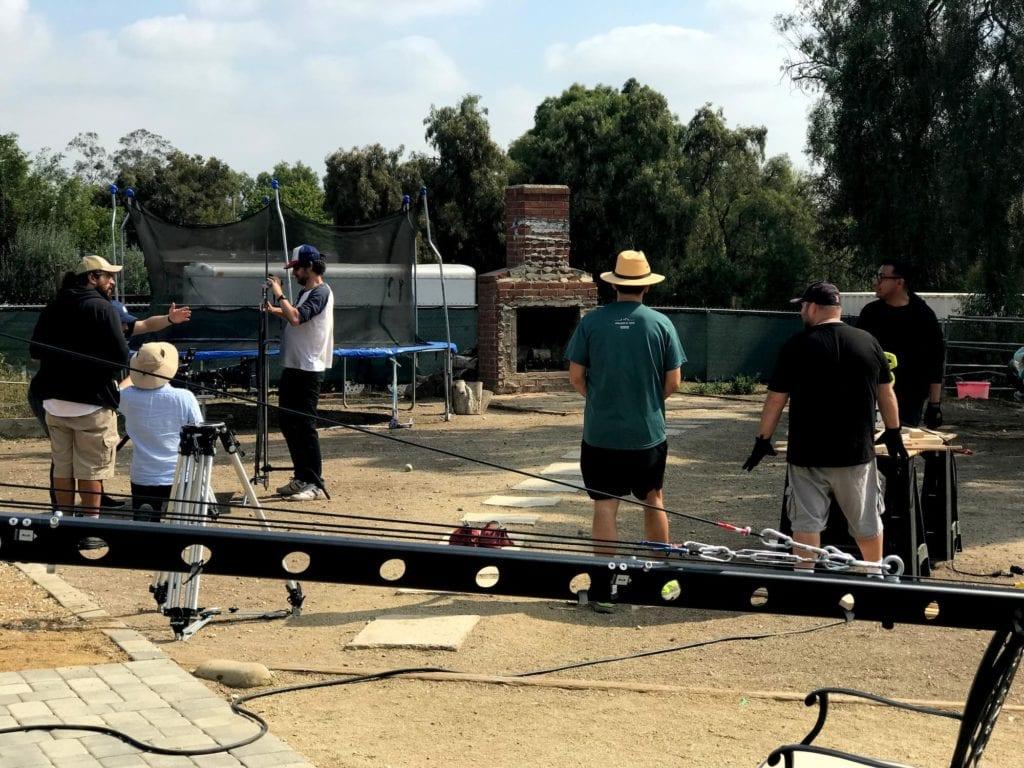 matthew greenberg directing treehouse short film behind the scenes