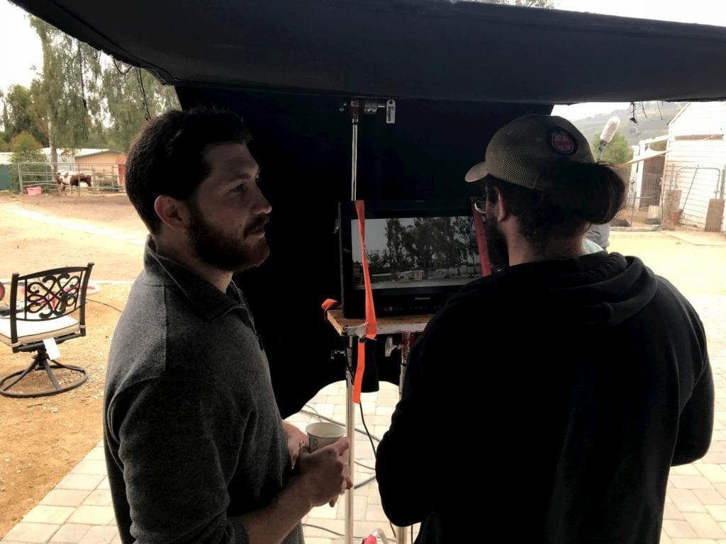 matthew greenberg video monitor behind the scenes treehouse short film