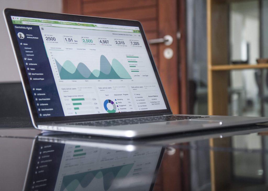 Film Budget Proposal on Laptop
