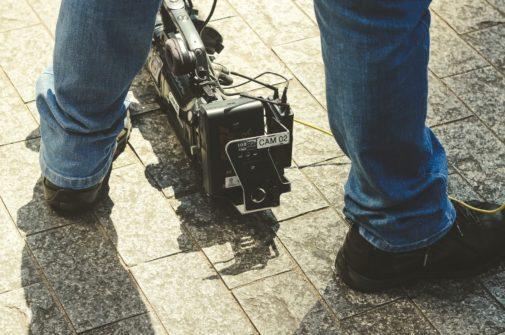 independent film camera crew