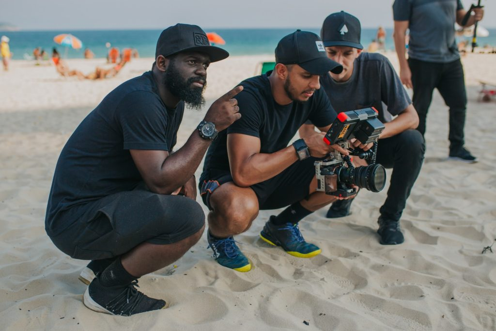 Beach Production Directing Still