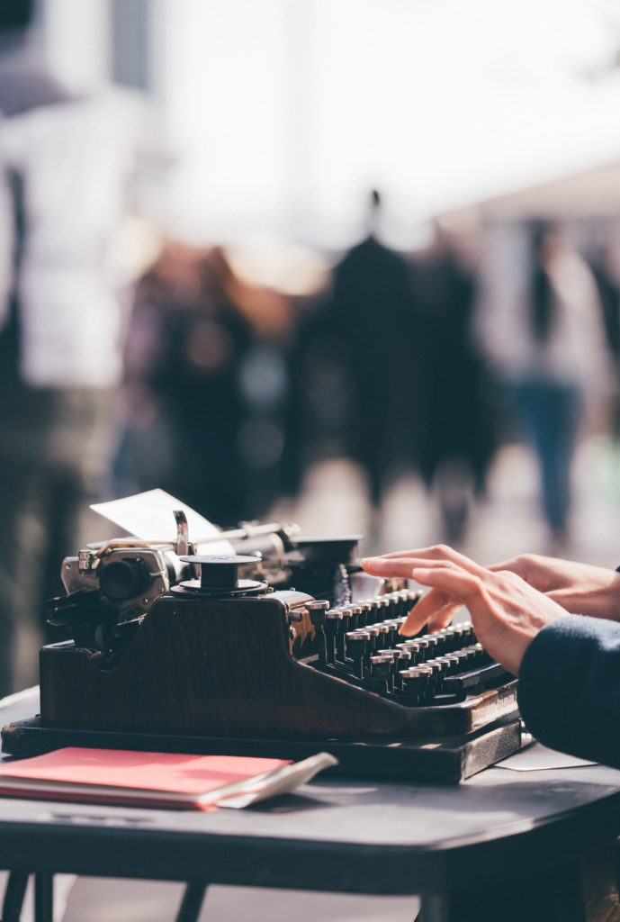 Typing up your Screenplay