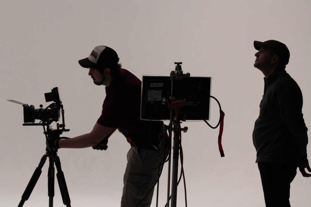 filmmaker and camera on set the film fund