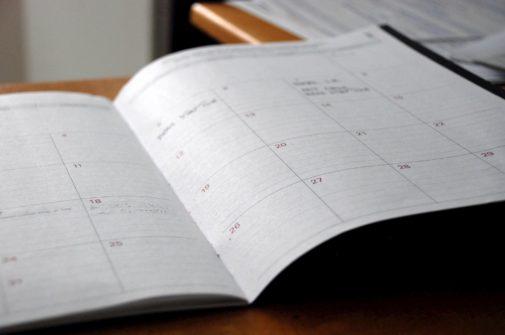 A scheduling book