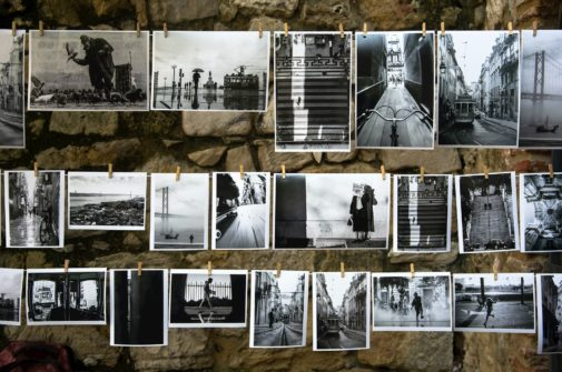 A photo collage symbolizing a mood board