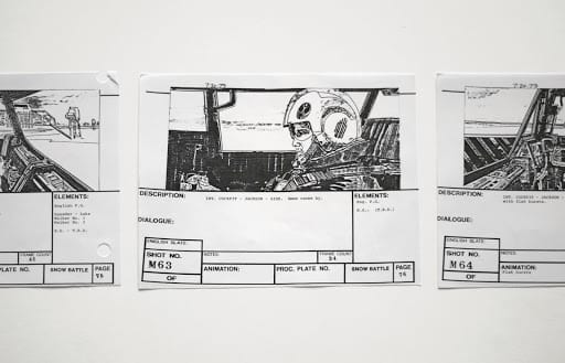 film production storyboard