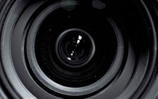 Cinema Camera Lens from Shutterstock