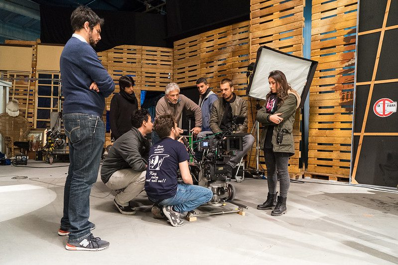 crew on a film set the film fund