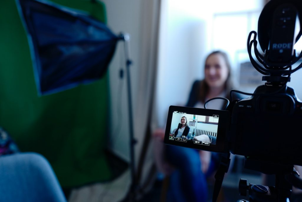 filming woman in living room the film fund
